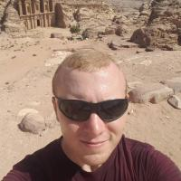 A selfie from my trip to Petra